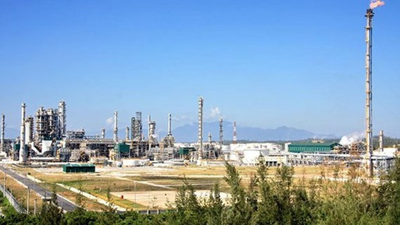 A corner of Binh Son Refining and Petrochemical Company Limited