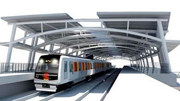 HCMC's second metro line continues running behind schedule