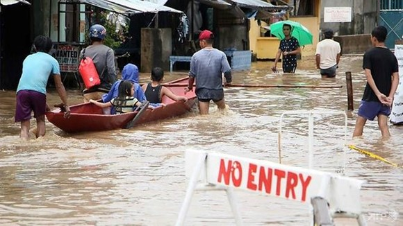 The storm hit central and eastern Philippine islands on December 29 and caused massive flooding and landslides.  (Photo: AFP)