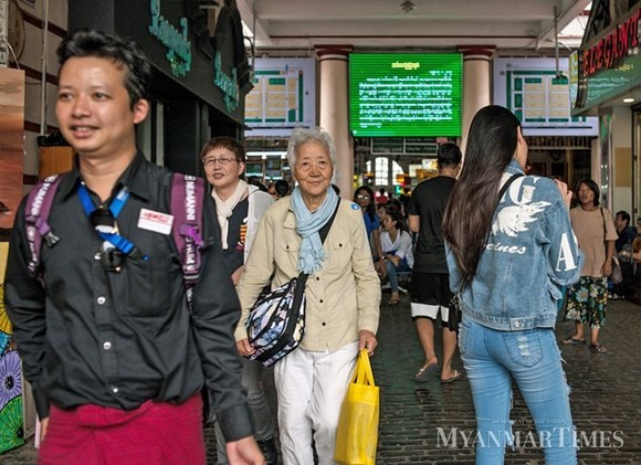 Asian tourists in Myanmar (Source: The Myanmar Times)