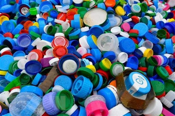 Thailand has approved a roadmap to tackle plastic waste by 2030 (Illustrative photo: AFP/VNA)