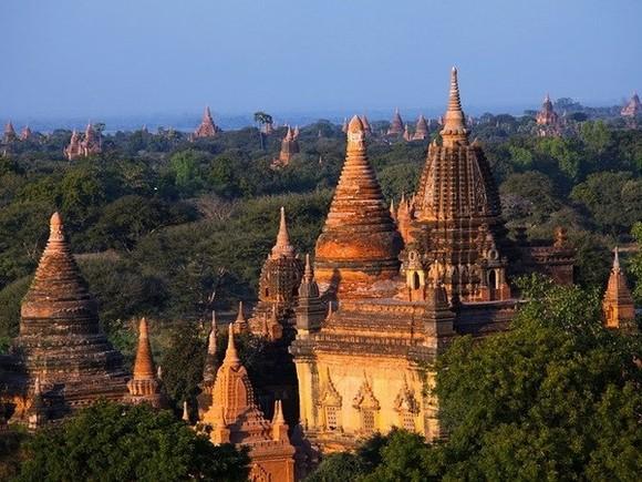 A tourist destination in Myanmar (Photo: AFP)