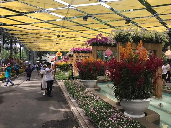 The first Orchid Festival opens in HCMC on April 27 (Photo: SGGP)