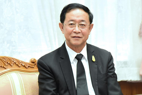 Thailand's former Transport Minister Arkhom Termpittayapaisith (Source: www.busandtruckexpo.com)