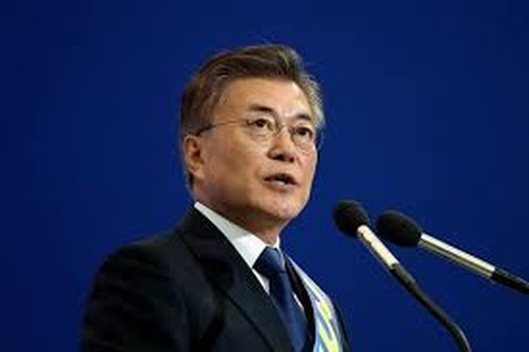President of the Republic of Korea Moon Jae-in