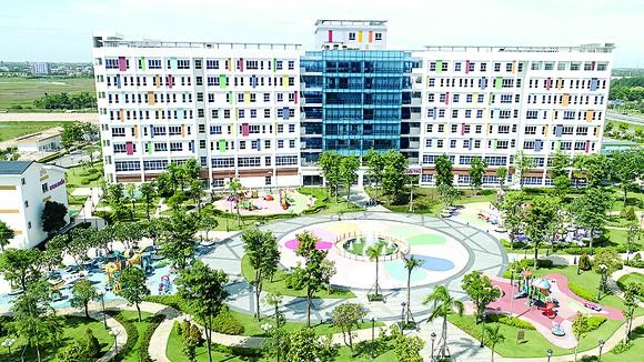 Toàn cảnh Bệnh viện Nhi đồng TPHCM