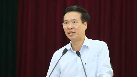 Đồng chí Võ Văn Thưởng