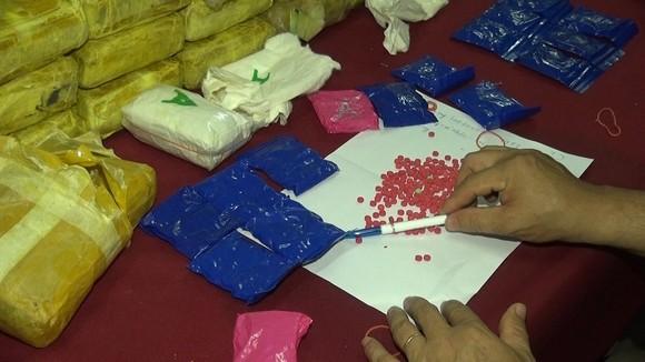 Phá chuyên án ma túy xuyên quốc gia lớn nhất Quảng Trị ảnh 2