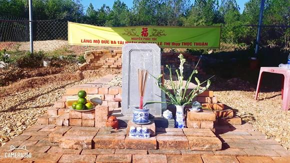 Thống nhất phương án xử lý lăng mộ phi tần vua Tự Đức ảnh 2