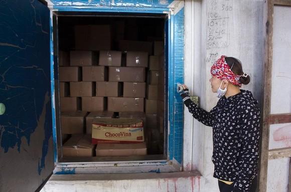 Hàng trăm tấn cá khô ứ đọng tại Quảng Trị ảnh 1