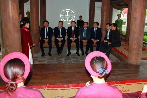 Phó Thủ tướng Vương Đình Huệ dâng hương tưởng niệm Uy Viễn tướng công Nguyễn Công Trứ ảnh 3