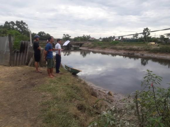 Đang tìm bắt cá sấu xuất hiện trên sông cầu Đông ở Hà Tĩnh ảnh 4