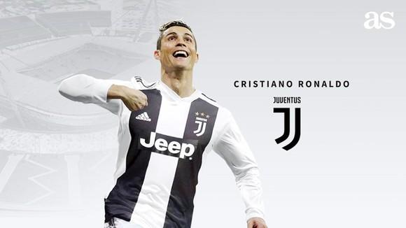 Ronaldo đã là người của Juventus. Ảnh AS.