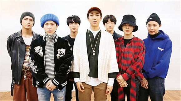 BTS đã trở thành nhóm nhạc K-pop đầu tiên được vinh danh tại một lễ trao giải của Tây Ban Nha