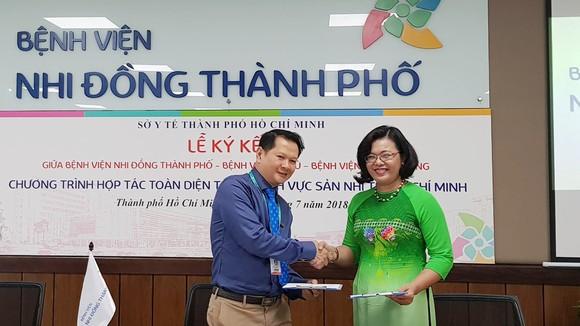 Bệnh viện Nhi đồng Thành phố, Từ Dũ, Hùng Vương hợp tác toàn diện về Sản - Nhi  ảnh 1