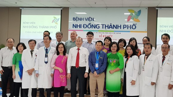 Bệnh viện Nhi đồng Thành phố, Từ Dũ, Hùng Vương hợp tác toàn diện về Sản - Nhi  ảnh 2