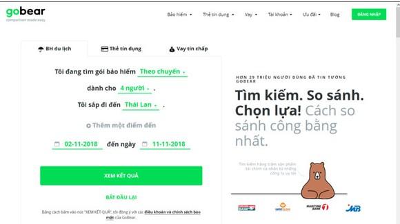 Chính thức hoạt động tại Việt Nam từ năm 2016, GoBear hiện là nhà cung cấp dịch vụ tìm kiếm và so sánh các sản phẩm tài chính được tin dùng hàng đầu tại Việt Nam
