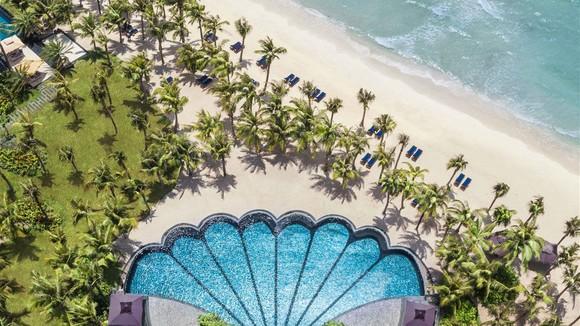 Bể bơi hình con sò - Shell Pool cũng được vinh danh là Khu nghỉ dưỡng có bể bơi đẹp nhất thế giới 2018