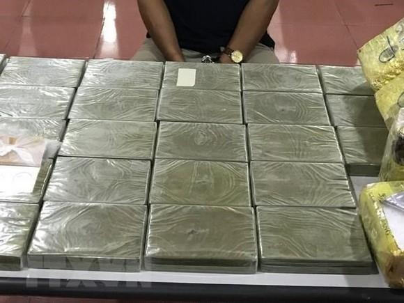 Tang vật một vụ buôn ma túy. (Ảnh minh họa. Nguồn: TTXVN