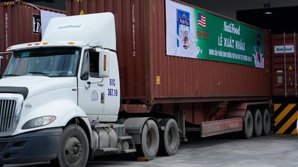 15 container sữa của NutiFood xuất sang thị trường Hoa Kỳ