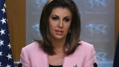 Người phát ngôn Bộ Ngoại giao Mỹ Morgan Ortagus. Nguồn: TTXVN