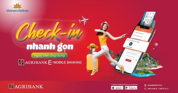 Ứng dụng ngân hàng có thêm tính năng làm thủ tục máy bay trực tuyến.