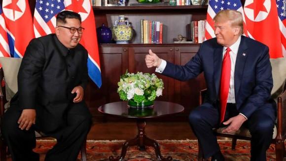 Hội nghị thượng đỉnh Mỹ - Triều Tiên: Lãnh đạo hai nước bắt đầu gặp nhau ảnh 7