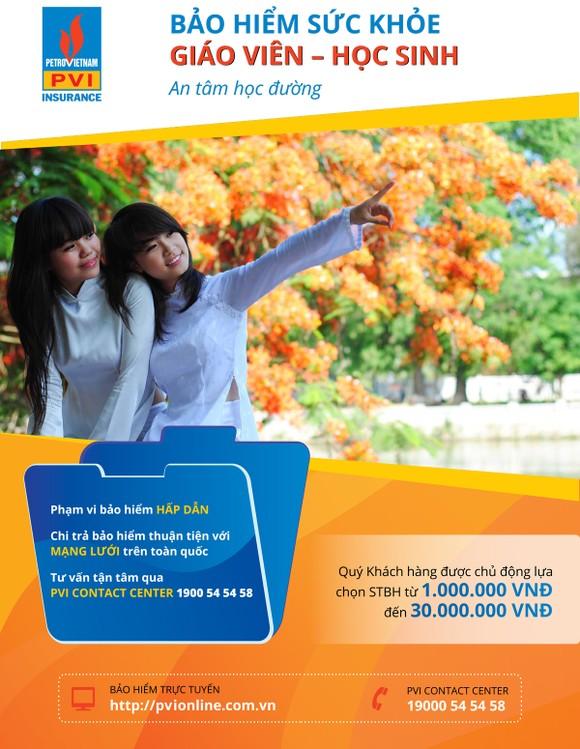 Bảo hiểm PVI trao học bổng, quà tặng và bảo hiểm cho học sinh, sinh viên nhân dịp năm học mới ảnh 1