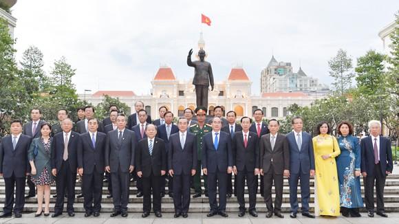 Lãnh đạo TPHCM tiếp Bộ trưởng Bộ Ngoại giao Trung Quốc ảnh 4