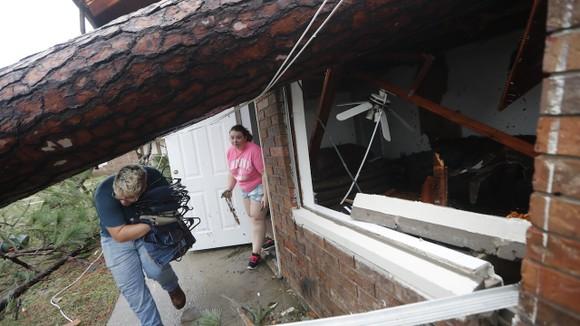 Florida tan hoang sau siêu bão Michael mạnh nhất kể từ năm 1992 ảnh 41