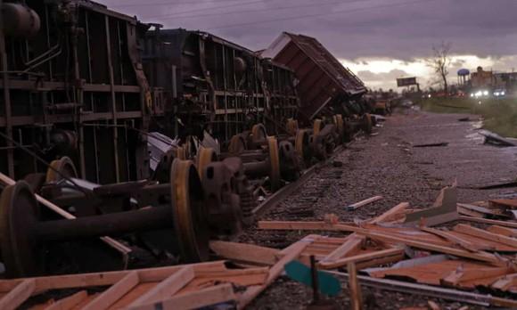 Florida tan hoang sau siêu bão Michael mạnh nhất kể từ năm 1992 ảnh 16