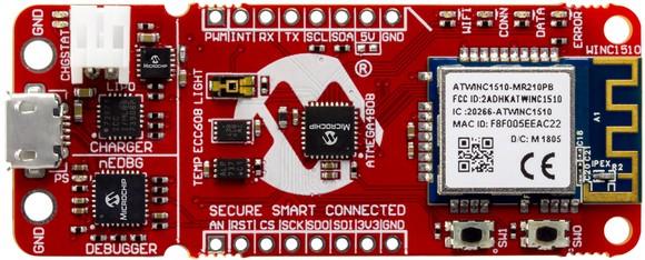 Tạo ra các ứng dụng kết nối an toàn chỉ bằng một cú nhấp chuột với bo mạch phát triển AVR® MCU ảnh 1