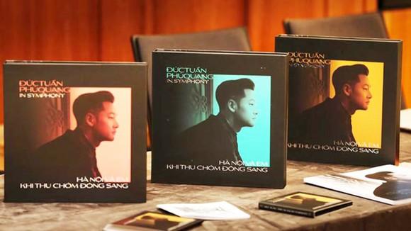 Album Đức Tuấn - Phú Quang in Symphony  được chuẩn bị kỹ càng, có chất lượng