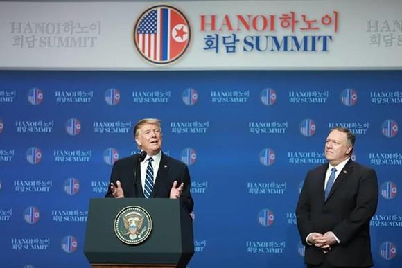 Hội nghị Thượng đỉnh Mỹ - Triều Tiên lần 2: Tổng thống Mỹ cho biết khúc mắc ở vấn đề trừng phạt ảnh 3