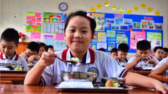 Dinh dưỡng học đường cho học sinh, luôn được nhà trường và phụ huynh quan tâm