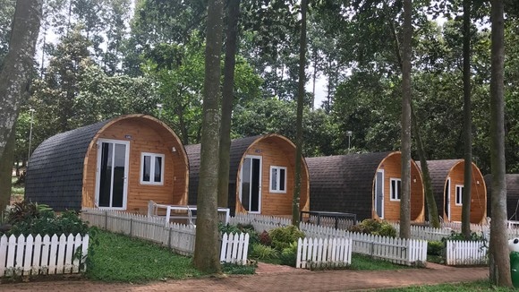 Khu nhà nghỉ xinh xắn ở đảo Đồng Trường