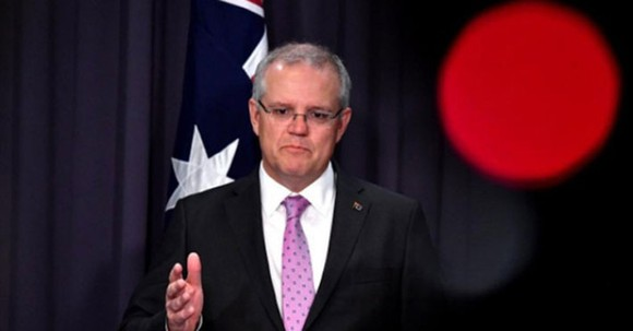 Thủ tướng Australia Scott Morrison - Ảnh: Reuter
