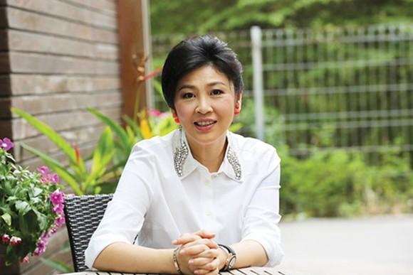 Cựu thủ tướng Thái Lan Yingluck Shinawatra. Ảnh: Khaosod.