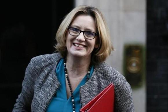 Bà Amber Rudd, Bộ trưởng Nội vụ Anh. (Ảnh: Reuters)