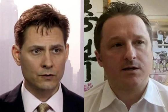 Michael Kovrig (trái) và Michael Spavor, 2 công dân Canada bị Trung Quốc bắt giữ. (Nguồn: AP)