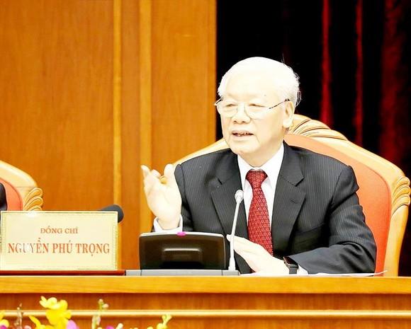 Phát biểu của Tổng Bí thư, Chủ tịch nước Nguyễn Phú Trọng  Khai mạc Hội nghị lần thứ 10 BCH TƯ Đảng Khóa XII ảnh 1