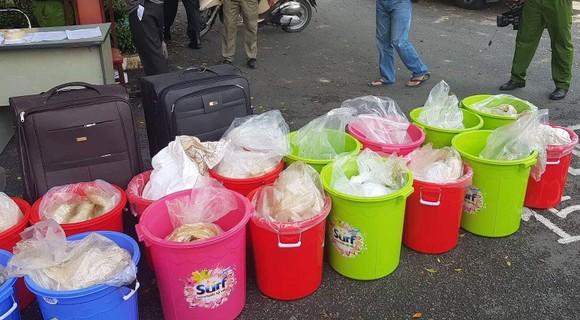 Hơn 500kg ma túy ketamine bị bắt giữ