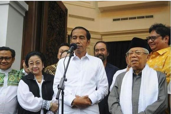 Ông Joko Widodo tái đắc cử vị trí Tổng thống Indonesia. Ảnh: REUTERS