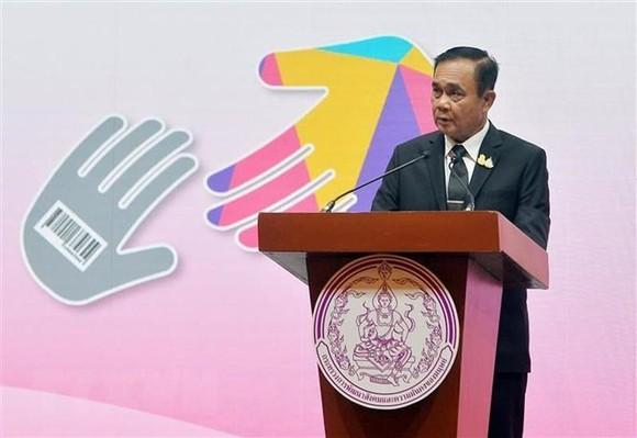 Thủ tướng tái đắc cử của Thái Lan Prayut Chan-o-cha phát biểu tại một sự kiện ở Bangkok, Thái Lan ngày 5/6. (Ảnh: THX/TTXVN)