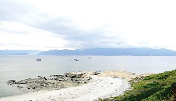 Khu bảo tồn biển Hòn Cau (Bình Thuận) có thể sẽ bị tác động nếu việc nhận chìm gần 1 triệu m³ chất thải được tiến hành