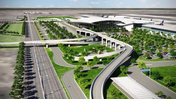 Phối cảnh dự án Cảng Hàng không Quốc tế Long Thành