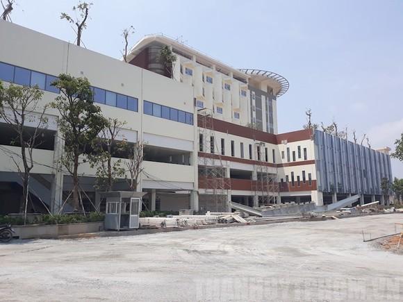 Công trình thi công Cơ sở 2, Bệnh viện Ung bướu TPHCM ngày 13-3-2019. Ảnh: hcmcpv/Đan Như