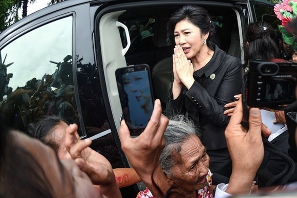 Former Thai Prime Minister Yingluck Shinawatra (Photo: nationmultimedia.com)