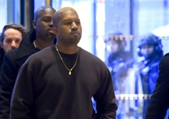 Kanye West's last major public appearance came last December when he unexpectedly showed up at Trump Tower. — AFP Photo
