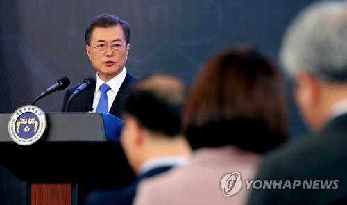 President reaffirms resolve to denuclearize N. Korea